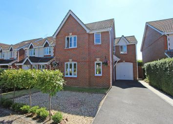 Thumbnail 4 bed detached house for sale in Hawkers Close, Totton, Southampton