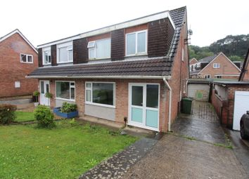 Thumbnail 3 bed semi-detached house for sale in Canefields Avenue, Plympton, Plymouth.