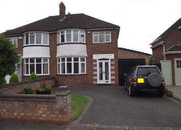 3 bed semi-detached house for sale in Springfield Road, Castle Bromwich, Birmingham B36