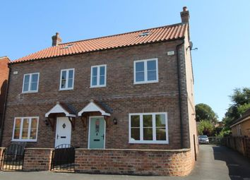 Thumbnail 3 bed semi-detached house for sale in Back Lane, Sowerby, Thirsk