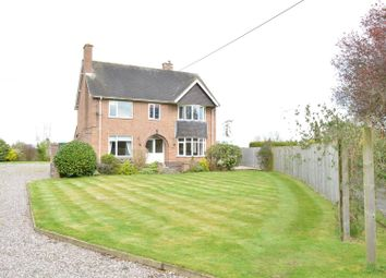 Thumbnail 4 bed detached house for sale in Four Crosses, Llanymynech