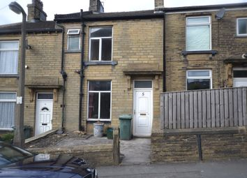 Thumbnail 1 bed terraced house for sale in James Street, Thornton, Bradford