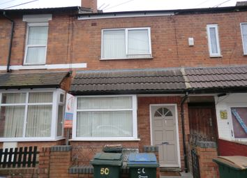 Thumbnail 5 bedroom terraced house to rent in Hamilton Road, Coventry