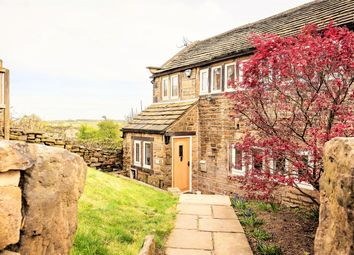 Thumbnail 3 bed semi-detached house for sale in Near Bank, Shelley, Huddersfield