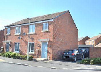 Thumbnail 3 bed semi-detached house for sale in Golden Arrow Way, Brockworth, Gloucester