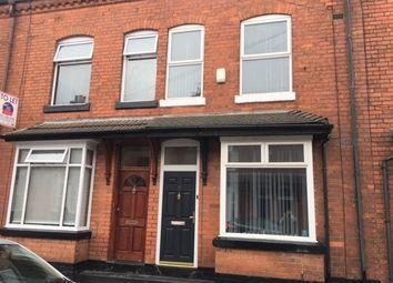 4 bed shared accommodation to rent in Sefton Road, Edgbaston, Birmingham B16