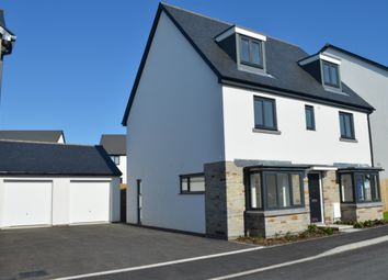 "Thumbnail 5 bed detached house for sale in ""The Regent"" at Coscombe Circus, Plymouth"