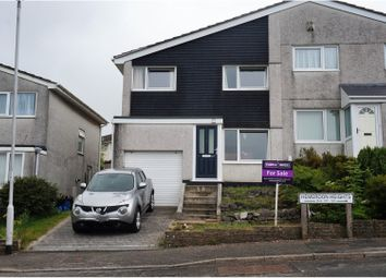 Thumbnail 3 bed semi-detached house for sale in Hemerdon Heights, Plymouth
