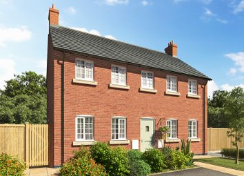 Thumbnail 4 bed detached house for sale in The Cannock, Etwall Road, Willington, Derby