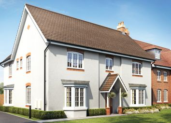 "Thumbnail 5 bed detached house for sale in ""Earlswood"" at Ripley Link, Great Denham, Bedford"