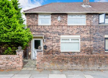 Thumbnail 3 bed semi-detached house for sale in Crofton Crescent, Stoneycroft, Liverpool