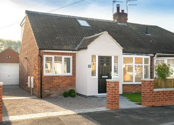 Thumbnail 3 bed semi-detached bungalow for sale in Hazel Garth, York, North Yorkshire