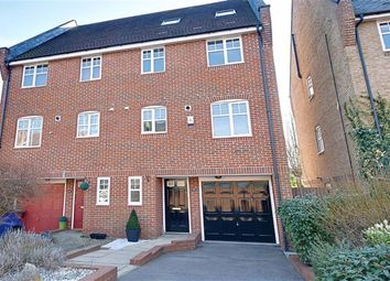 Thumbnail 5 bedroom town house for sale in Lilbourne Drive, Hertford
