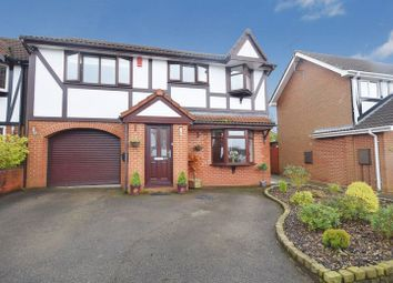 Thumbnail 4 bed detached house for sale in Meigh Road, Werrington, Stoke-On-Trent