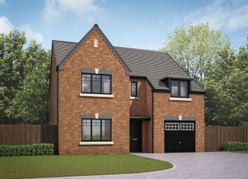 Thumbnail 4 bed detached house for sale in Moorfields, Whitehouse Drive, Killingworth, Northumberland