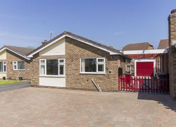 Thumbnail 2 bed detached bungalow for sale in Cherry Tree Close, Bolsover, Chesterfield