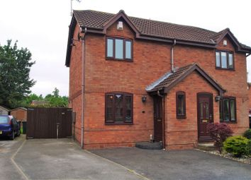 Thumbnail 2 bed semi-detached house for sale in Charnock Drive, Cusworth, Doncaster