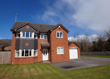 Thumbnail 4 bed detached house for sale in Llay Road, Llay, Wrexham