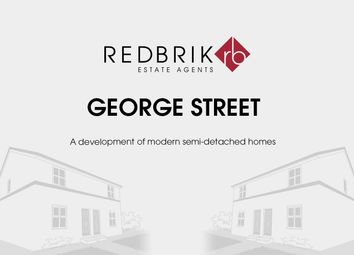 Thumbnail 3 bed semi-detached house for sale in George Street, North Wingfield, Chesterfield