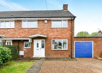 Thumbnail 3 bed end terrace house for sale in Bittell Close, Northfield, Birmingham, West Midlands