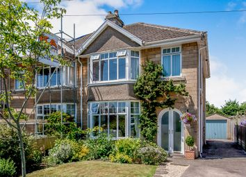 Thumbnail 3 bed semi-detached house for sale in Rosslyn Road, Bath