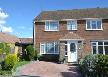 Thumbnail 3 bed semi-detached house for sale in Westergate Close, Ferring, West Sussex