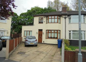 Thumbnail 3 bedroom semi-detached house to rent in The Avenue, Huyton, Liverpool