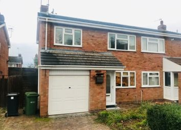 Thumbnail 3 bed semi-detached house for sale in Baveney Road, Worcester Worcestershire