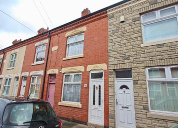 Thumbnail 2 bed terraced house for sale in Quorn Road, Leicester