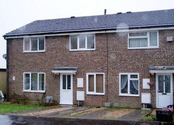 Thumbnail 2 bedroom terraced house to rent in Hedgemoor, Brackla, Bridgend.