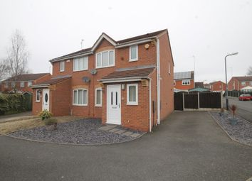 Thumbnail 3 bed semi-detached house for sale in Pebblebrook Way, Bedworth