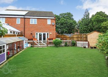 3 bed semi-detached house for sale in Kevill Davis Drive, Little Plumstead, Norwich NR13