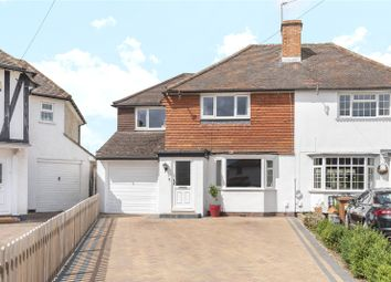 Mill Way, Mill End, Rickmansworth, Hertfordshire WD3. 3 bed semi-detached house