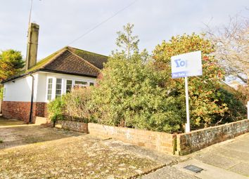 Eley Drive, Rottingdean, Brighton BN2. 2 bed semi-detached bungalow for sale