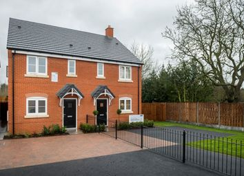 Thumbnail 3 bed semi-detached house for sale in Newfield Rise New Street, Measham, Swadlincote