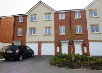Thumbnail 4 bed town house for sale in Levy Close, Rounds Gardens, Rugby