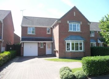 Thumbnail 4 bedroom detached house to rent in Douglas Bader Drive, Lutterworth