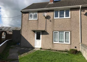 Thumbnail 3 bed semi-detached house to rent in Is Y Llan, Llanddarog, Carmarthenshire