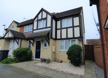 Thumbnail 3 bed end terrace house for sale in The Causeway, Quedgeley, Gloucester.