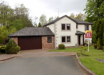 Thumbnail 4 bed detached house for sale in Wellgate, Scotby