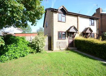 Thumbnail 2 bed semi-detached house to rent in Petersfield Close, Chineham, Basingstoke