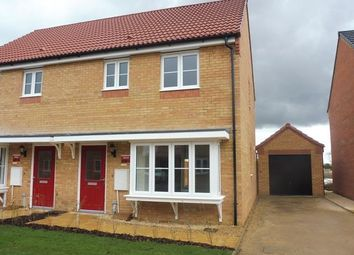 Thumbnail 3 bed semi-detached house to rent in Vestry Close, Thorney, Peterborough
