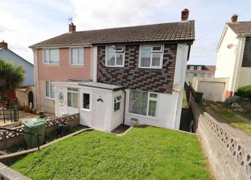 Thumbnail 2 bed semi-detached house for sale in Sowden Park, Barnstaple