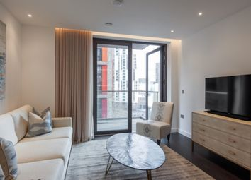 Thumbnail 1 bed flat to rent in Ponton Road, London