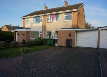 Thumbnail 3 bed semi-detached house to rent in Grampian Close, Muxton