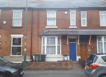 Thumbnail 4 bed terraced house to rent in Bernard Street, Walsall, West Midlands