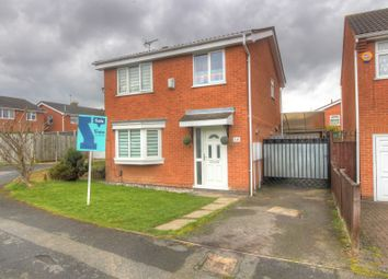 Thumbnail 3 bed detached house for sale in Maplewell Drive, Leicester