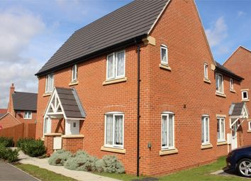 Thumbnail 3 bed end terrace house for sale in Daisy Close, Lutterworth