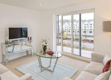"Thumbnail 2 bedroom flat for sale in ""Compass Point"" at Sunnyside, Boringdon Road, Turnchapel, Plymouth"