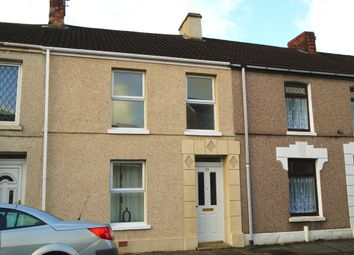 Thumbnail 3 bed terraced house for sale in Railway Terrace, Llanelli, Carmarthenshire